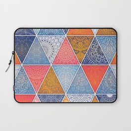 Pattern Mandala Losange Laptop Sleeve