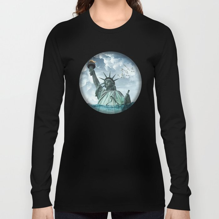 the water line Long Sleeve T-shirt