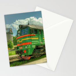 Latvian Loco double Stationery Cards