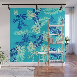 GTA Floral Hawaii Wall Mural