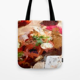 Breakfast for tourists in Groningen - Netherland Tote Bag