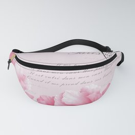 Life in Pink Fanny Pack