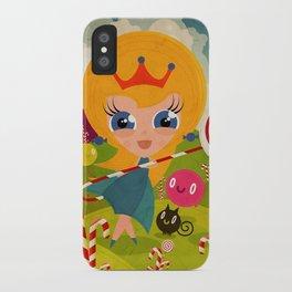 Caramel Princess iPhone Case