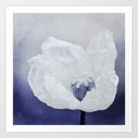 indigo Art Prints featuring INDIGO by Iris Lehnhardt