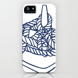 Knotical (WHITE) iPhone Case
