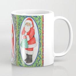 Three Santas Coffee Mug