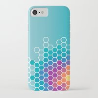 honeycomb iPhone & iPod Cases featuring Honeycomb by AleyshaKate