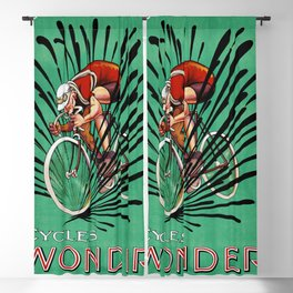 Best vintage Bicycle ad Blackout Curtain