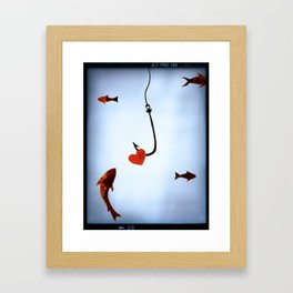 Hooked, Lined, Sinkered Framed Art Print