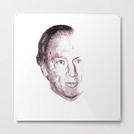 Pierre Elliot Trudeau Metal Print