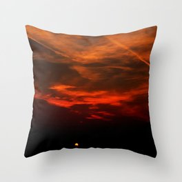The Hidden Sun Throw Pillow