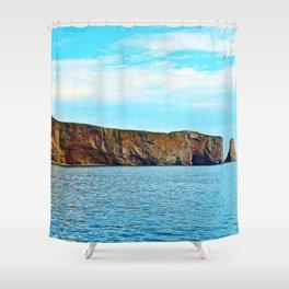 Le Rocher Perce Shower Curtain