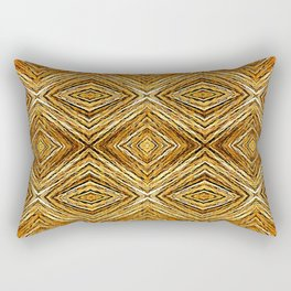 Memories of Woven Grass, Straw Rectangular Pillow