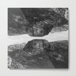 mountainous Metal Print