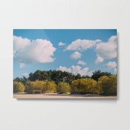 A day by the sea Metal Print