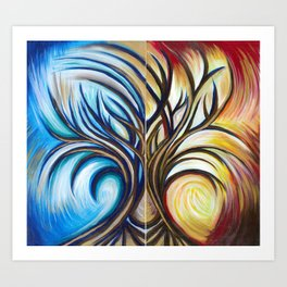 Brother Tree Art Print