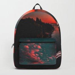 Canadian sunset #buyart #society6 Backpack