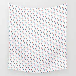 Popsicle - Slanted Bomb Pop #102 Wall Tapestry