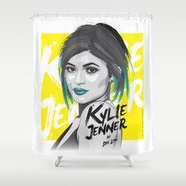 Kylie Jenner Shower Curtain