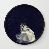 sunrise Wall Clocks featuring sunrise by PandaGunda