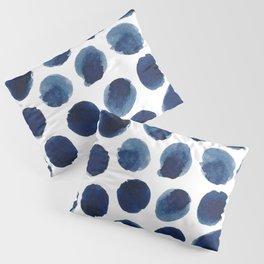 Watercolor polka dots Pillow Sham