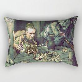 D&D Gamblers  Rectangular Pillow