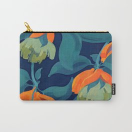Tropical orange fruit tree Carry-All Pouch
