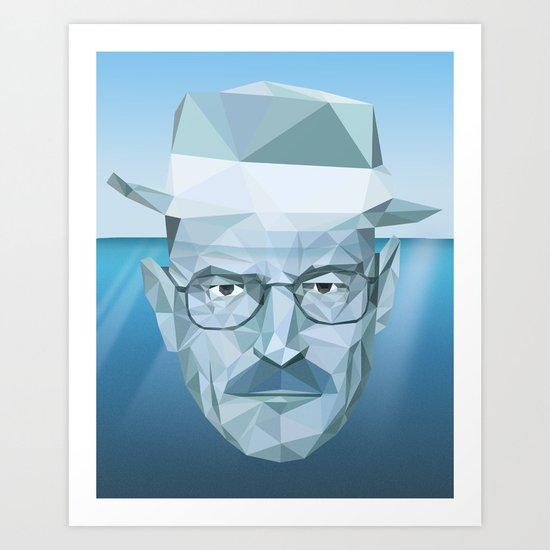 Tip of the Heisenberg Art Print
