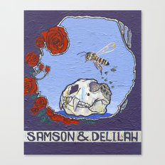 Samson & Delilah Canvas Print