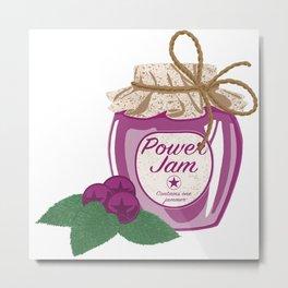 Power Jam Metal Print