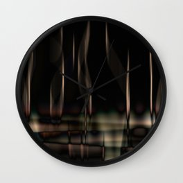 night reflections Wall Clock