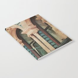 The Escape - Kitschy Vintage Watercolor New York City Manhattan Notebook