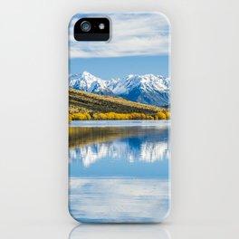 Lake Selfe iPhone Case