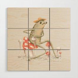 Awkward Toad Wood Wall Art