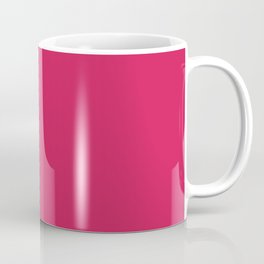 Flushed Maroon Coffee Mug