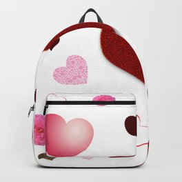 Hearts and Roses Backpack