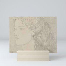 Dante Gabriel Rossetti Fanny Cornforth 1859 Mini Art Print