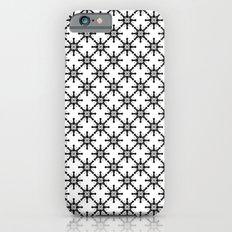 Black and White Custom Pattern 2 Slim Case iPhone 6s