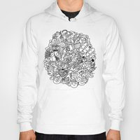 doodle Hoodies featuring Doodle  by simovibart