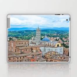 Siena, Italy - from above III Laptop & iPad Skin