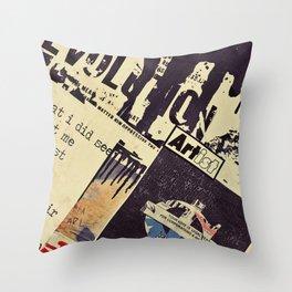 Arti$t Revolution Throw Pillow