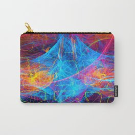Nervous Neon Carry-All Pouch