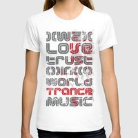 springsteen T-shirts featuring Trust in Trance Music by Sitchko