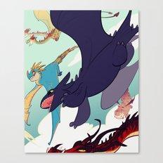 This is Berk Canvas Print