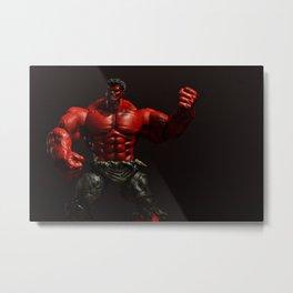 RED HULK Metal Print