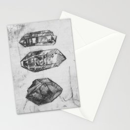 Trilogy of Gem Stones Stationery Cards