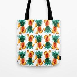 Pineapple Tumble Tote Bag