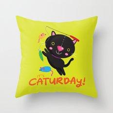 Caturday Series: Kimchi Throw Pillow