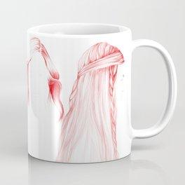 Three Red Girls Coffee Mug