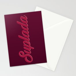 SUPLADA - RED Stationery Cards